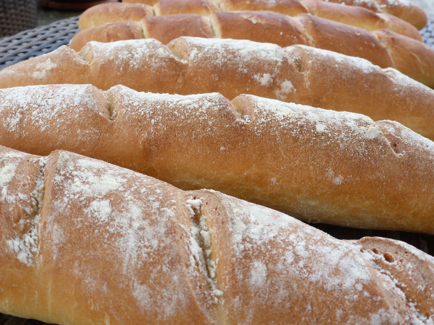 Baguette bread cooking course
