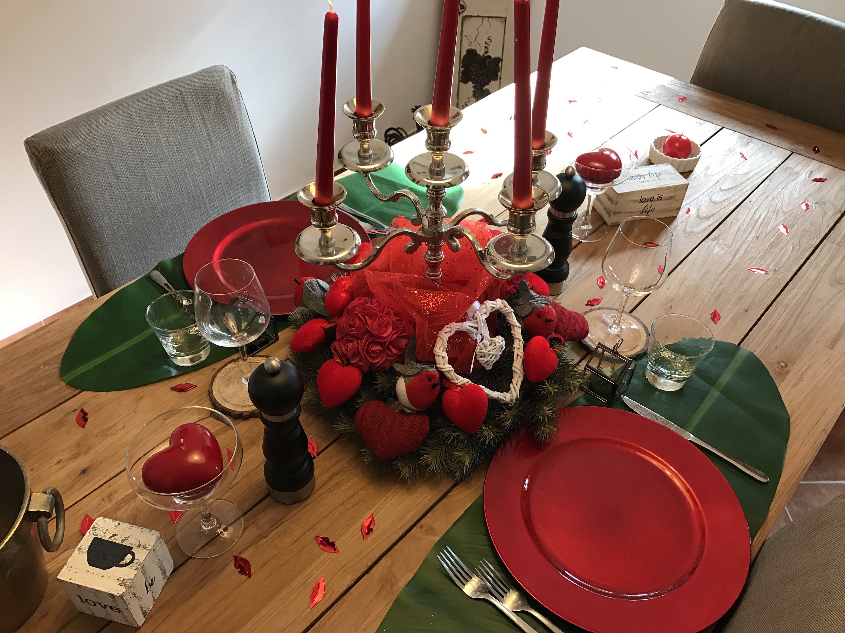 Create your own private Romantic dinner and evening for two
