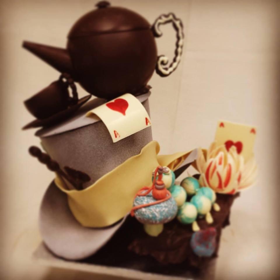 Chocolate Show Piece