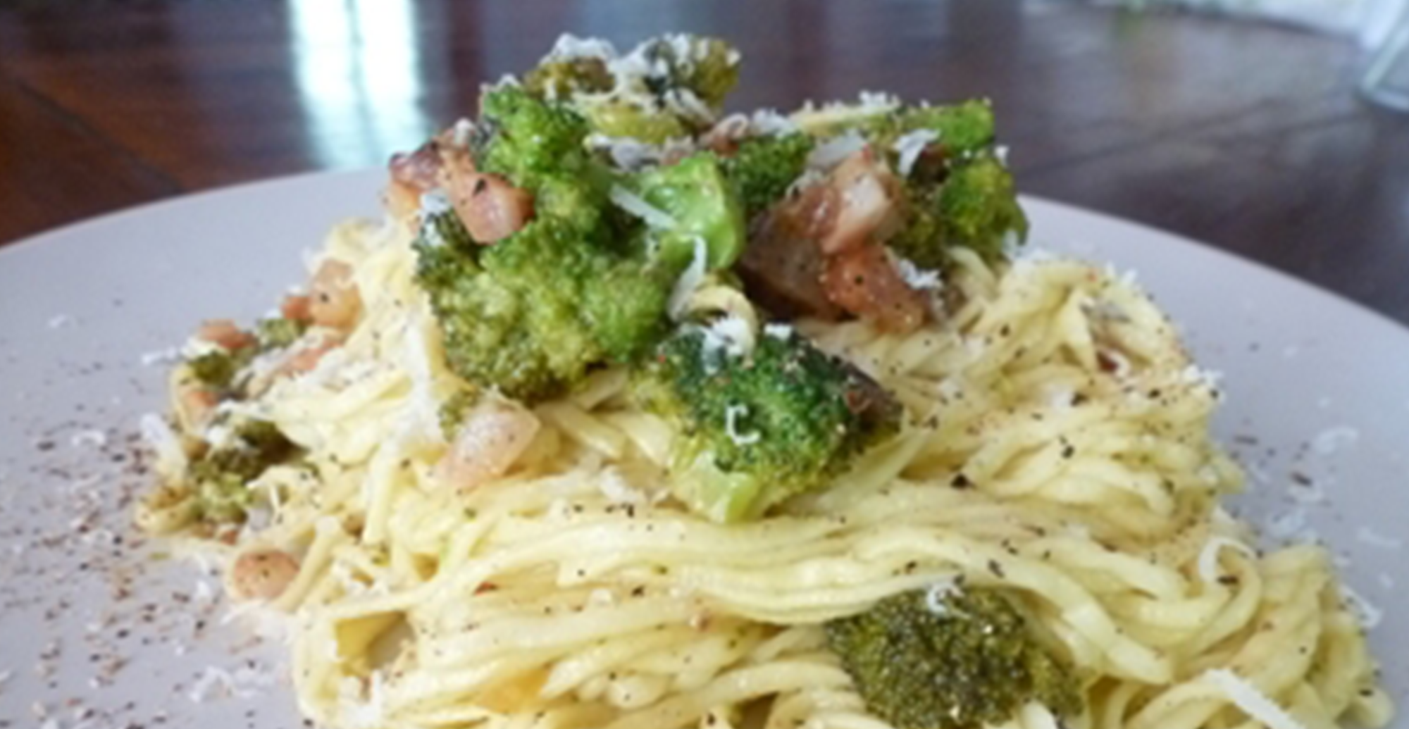 Recipe: Tagliolini Pasta with Fresh Broccoli