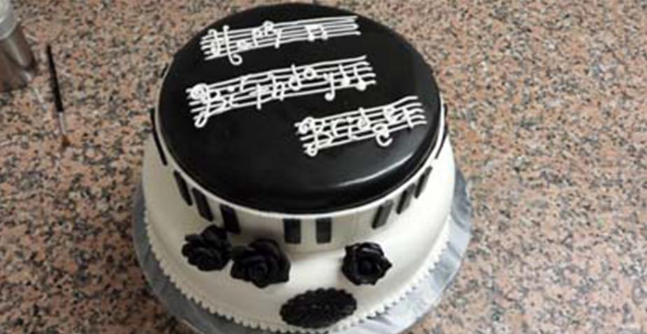 Musical Birthday Carrot Cake